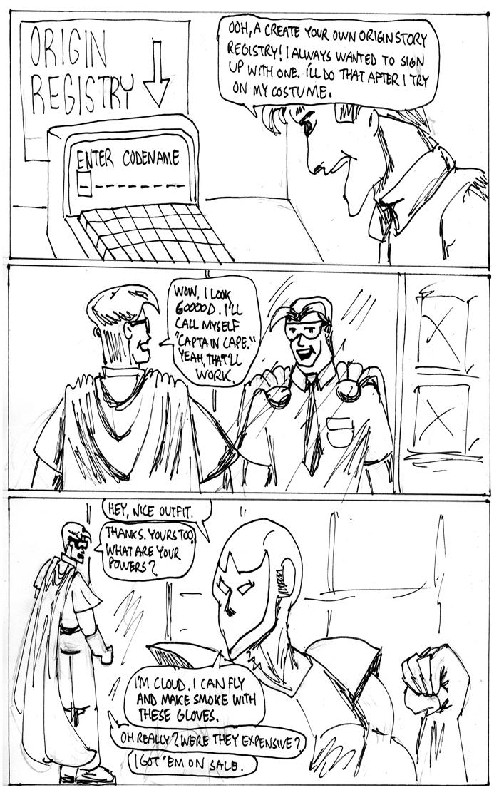 Secret Origins, page 3