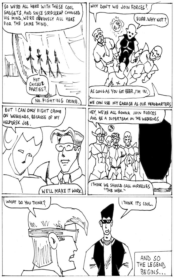 Secret Origins, page 7